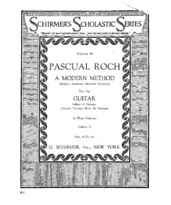 A modern method for the guitar School of Tarrega vol 2