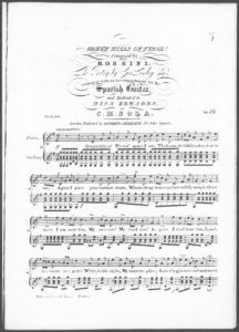Green Hills of Tyrol, the Poetry by Geo. Linley, Esqr., arranged with an Accompaniment for the Spanish Guitar