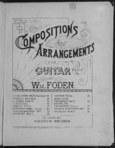 Home sweet home  guitar solo  varied arranged by Wm. Foden  poem by J.H. Payne