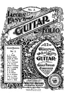 Jacob's Easy Guitar Collection of Solos and Duets Volume 2