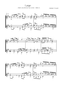 Largo From Concerto for Two Cellos (tomo 61)