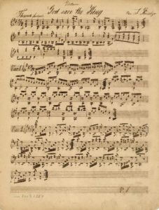 Op. 12 God save the King