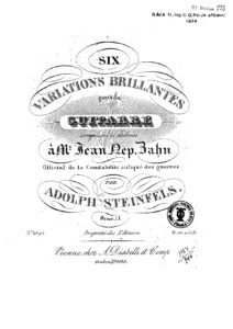 Op. 17 Six Variations brillantes