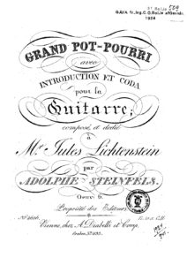 Op. 6 Grand Pot-Pourri