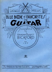 Op.127 Blue book of favorites album