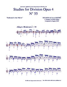 Opus 4 Studies for DivisionStudies for Division Study no. 55