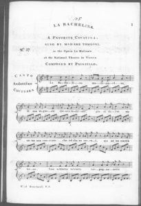 Periodical Amusements for the Spanish Guitar. No. 17