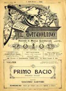 Primo Bacio (Vals) for two mandolins and guitar