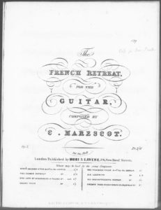 The French Retreat for the Guitar . Op. 7