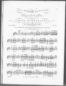 The German Retreat, composed for the guitar