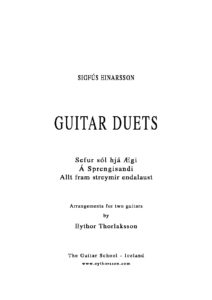 Three duets for Guitar