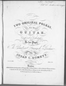 Two Original Polkas for the Guitar