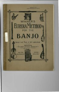 Winner's eureka method for the banjo latest and best of all instructors