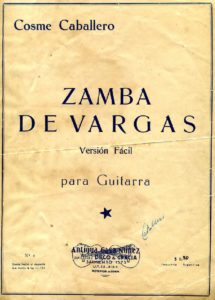 Zampa de Vargas (Version Facil)