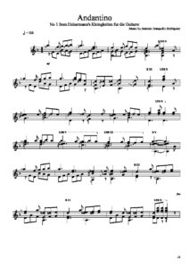Andantino by Antoine Tranquille Berbiguier