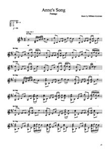 Annes Song by William Ackerman